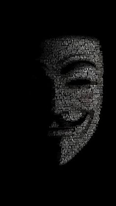 FreeiOS7 | v-for-vendetta-face | freeios7.com | iPhone iPad