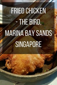 Hey guys, I visited The Bird Southern Table And Bar at the Marina Bay Sands Singapore a couple of weeks ago. This is a short review on what I ate the other day.  As you guys probably know, the shops at Marina Bay Sands are really high end, and The Bird is no exception.