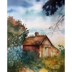 Watercolor by Lotta H Wessman
