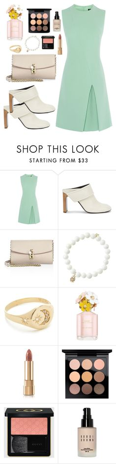 """""""Untitled #2420"""" by annie-leah ❤ liked on Polyvore featuring rag & bone, Dolce&Gabbana, Sydney Evan, Jacquie Aiche, Marc Jacobs, MAC Cosmetics, Gucci and Bobbi Brown Cosmetics"""