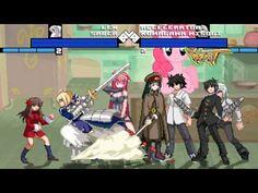 New Mugen EVE [HD] - Saber,Len,Kaigen,Ignis vs Kumagawa,Accelerator,Kami...