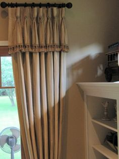 Goblet Pleat Drapery Panels With Attached Valance Trim regarding dimensions 2247 X 3000 Bedroom Curtains With Attached Valance - Room curtains are House Design, Curtains With Attached Valance, Diy Drapes, Drapery Panels, Curtains Bedroom, Home Decor, Curtains, Sheer Curtain Panels, Curtain Designs