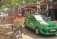 Hanoi . Jumping-jacks on a stick by marcosarli