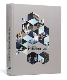 Corona Del Mar High School (Newport Beach, CA) | 2015 Yearbook Cover | Theme: Changing Perspectives | Printed by Herff Jones