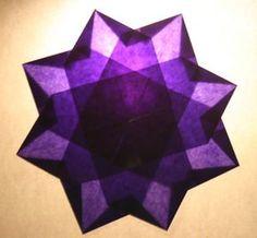 LAVORETTI PER NATALE – stella di carta trasparente – modello 2 – Pagina 3 – Lapappadolce