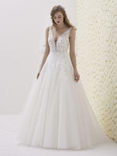 Svatební šaty 2019 již v NUANCI