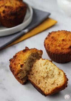 Muffiny z mąki kokosowej – Przepis dietetyka Scd Recipes, Gluten Free Recipes, Sweet Recipes, Cooking Recipes, Healthy Desserts, Healthy Recipes, Vegan Gluten Free, Cooking Time, Food Porn