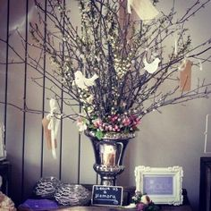 pinterest party ideas, 60 th anniversary | Memory tree an alternative guest book | 50th Anniversary Party Ideas