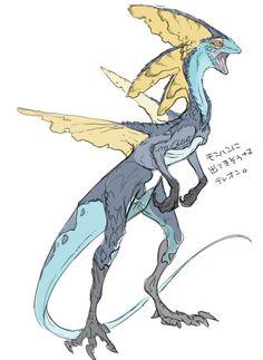 history of dinosaurs Pokemon Na Vida Real, Real Pokemon, Pokemon Comics, Creature Feature, Creature Design, Fantasy Creatures, Mythical Creatures, Games Like Pokemon, Aliens