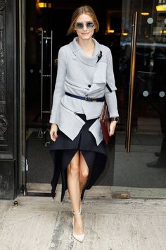 Olivia Palermo Style - London Fashion Week Street Style - Harper's BAZAAR
