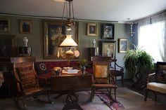 The west room in Michael & Anna Ancher's House in Skagen #pskrøyer #michaelancher #annaancher