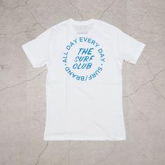 """画像2: """"CLUB"""" 半袖Tシャツ / SURF/BRAND"""
