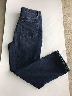 6929035c390 Talbots Flawless Five-Pocket JEANS Ankle Length Slim & Straight High Rise  Condition is excellent Pre-owned.