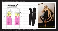 Mod@ en line Techniques Couture, Sewing Techniques, Diy Clothing, Clothing Patterns, Fashion Sewing, Diy Fashion, Costura Fashion, Evening Dress Patterns, Modelista