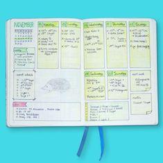 Wochenübersicht für dein Bullet Journal - Inspiration und Ideen für die richtige Gestaltung deines Planers; Wochenübersichten im Vergleich