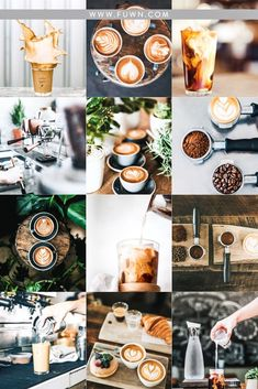 Moody images with off black colors are my favorite when it comes to food photography. Love editing my dark recipe images with these presets. Instagram Feed Layout, Feeds Instagram, Instagram Design, Coffee Photography, Food Photography, Best Filters For Instagram, Coffee Instagram, Coffee Branding, Food Themes