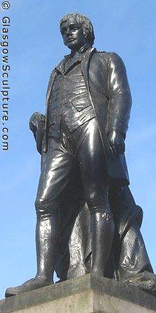 Statue of Robert Burns, Glasgow