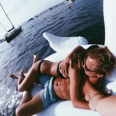 Imagen de couple, love, and summer
