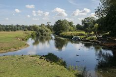 The River Stour at Dedham on the Suffolk Essex boarder