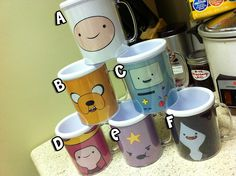 Adventure Time Cups