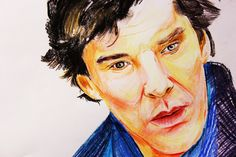 DRAWING BENEDICT CUMBERBATCH | SHERLOCK