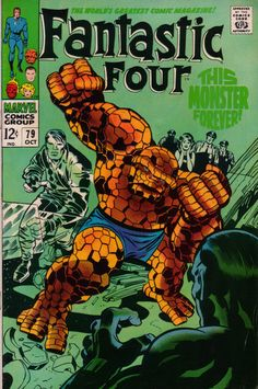 Fantastic Four 79 - Stan Lee and Jack Kirby