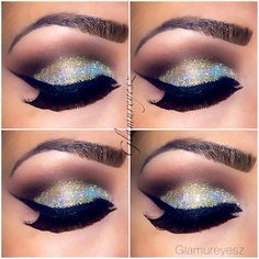 Glam. i wish i could pull this off....however i cannot put fake lashes on myself ever