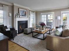 Coastal Living Room photo by Michelle Wenitsky Interior Design
