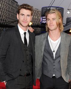 Liam and Chris Hemsworth, yes thanks