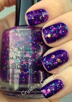 Crystal's Crazy Combos: KBShimmer - The Square