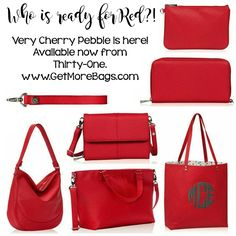 Are you Ready for Red? Where are my Deltas at? www.getmorebags.com  #deltasigmatheta #red #thirtyone