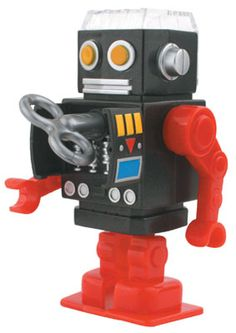 Kikkerland Design » Products » Pencil Sharpener Robot ($1-20) - Svpply