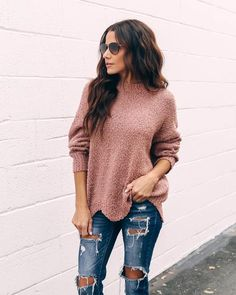 881456ebf477 Up your sweater game with our Cozy Cottage Knit Sweater! Click to shop our  website or follow us at  VICIDOLLS for all the latest updates + fashion  inspo!