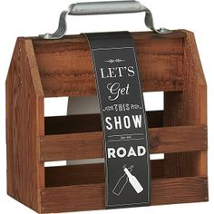 Wooden Beer Six Pack Holder | wooden 6 pack holder - handcrafted from reclaimed wood from old barns ...