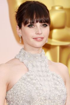 The best in beauty from the 2015 Oscars: Felicity Jones