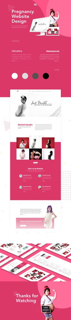 This is my freelance project for Riokid Studio that specializes for pregnant photo shoot. This web design makes use of the popular. Beside, it is also packed with the beautiful and eye - catching page layouts.