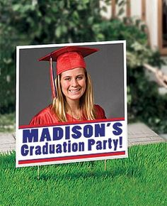 personalized graduation party supplies » pictures