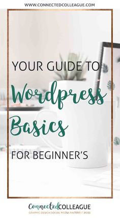 Ultimate Guide to the WordPress Dashboard for Beginners - Wordpress Ecommerce Theme - We've got you covered for all of your WordPress Basics for your Virtual Assistant website or your clients. Get your WordPress site set up from start to finish! Wordpress For Beginners, Learn Wordpress, Wordpress Plugins, Blogging For Beginners, Wordpress Admin, Wordpress Theme, Wordpress Guide, Admin Login, Installer Wordpress