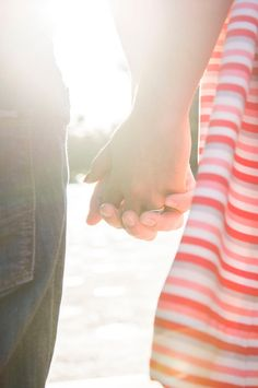 Holding Hands. Wedding Anniversary Photo Ideas by Peterson Photography