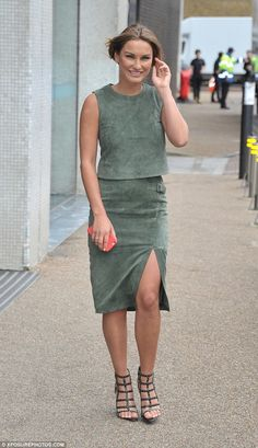 1c078b57ba 7 Ways You Can Work A Suede Skirt