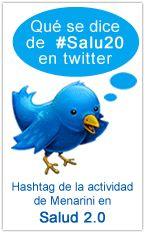 Lo que se dice de #Salu20 en TW. http://www.formacionsanitaria.com/salud2punto0/hashtag-salud-20.php