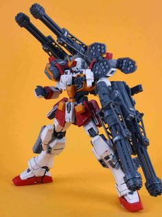 MG Gundam Heavyarms - Customized Build Modeled by 扭曲机器 Gundam Toys, Gundam Art, Armored Core, Gundam Wallpapers, Gundam Mobile Suit, Gundam Custom Build, Cool Robots, Gundam Wing, Robot Concept Art