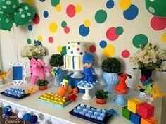 Receber e Celebrar: Aniversário infantil - Pocoyo