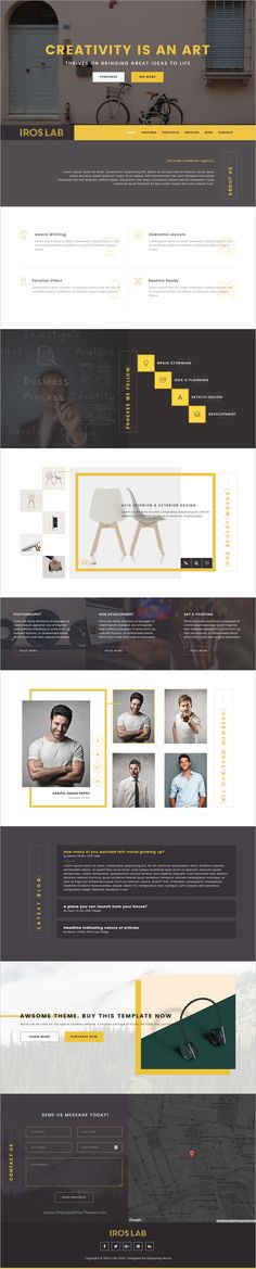 iRos is a minimal, flat and modern design 3in1 #bootstrap template for #webdev creative one page #portfolio websites download now➩ https://wrapbootstrap.com/theme/iros-creative-portfolio-template-WB0085080?ref=datasata