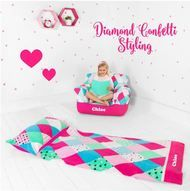 Diamonds are indeed a girl's best friend when it comes to our whimsical diamond confetti range. Your princess' bedroom will shine with the added sparkle of our personalised bedroom décor