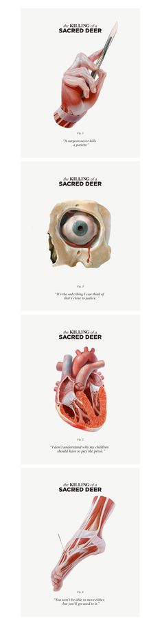 The Killing of the Sacred Deer - Campaign Digital Campaign.To get fans and moviegoers intrigued about this movie Watson DG created a sense of mystery around the film's premise with pieces that raise more questions than they answer. The campaign will c…
