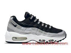 the best attitude 5c04c 14e55 Nike Air Max 95 814914 001 Chaussures Nike Prix Pas Cher Pour Homme Noir  Blanc
