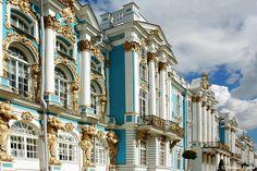 Catherine's Palace, Tsarskoe Selo, Sankt Petersburg, Russia