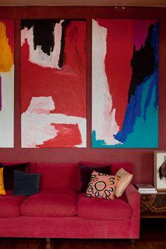 Vogue Living Australia- Rouge sofa
