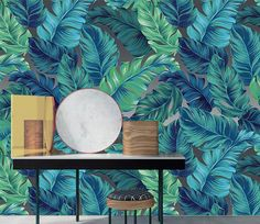 Aesthetic Patterns Discover Floral murals that will attract you at first glance in AJ wallpaper Retro Wallpaper, Pastel Wallpaper, Home Wallpaper, Wallpaper Designs, Wallpaper Paste, Mural Floral, Vintage Floral Wallpapers, 3d Wall Murals, 3d Home